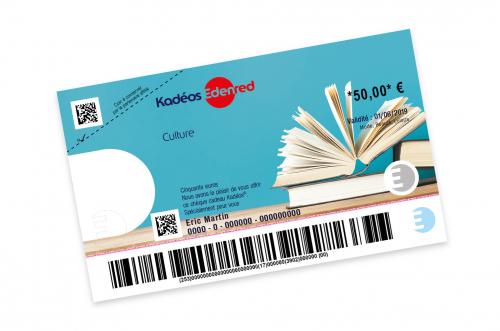 cheque Kadéos Culture