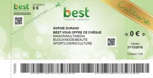 cheque BEST Culture
